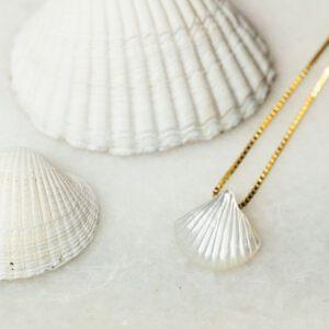 Perlemor halskæde