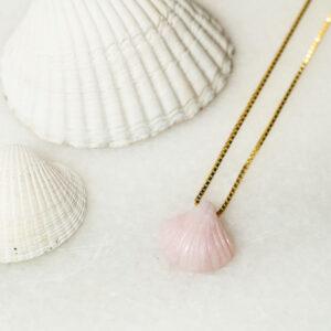 Pink Opal musling smykke