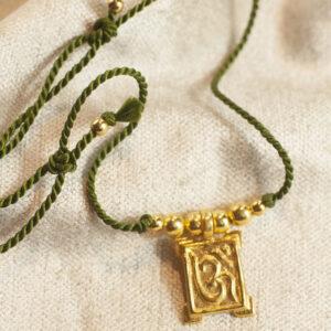 Aum Ohm amulet halskæde
