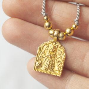 Laksmi amulet halskæde