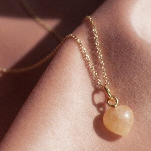 Krystal halskæde - den kreative